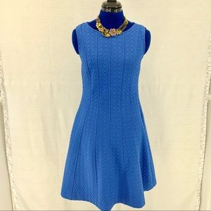 The Limited Blue Quilt Dress Size M